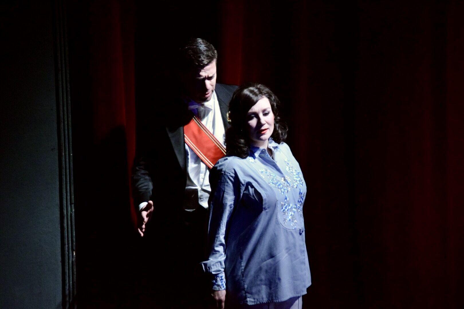 Mit Pauliina Linnosaari, DIE LUSTIGE WITWE, Saarländisches Staatstheater 2019, Foto@Peter Schöne