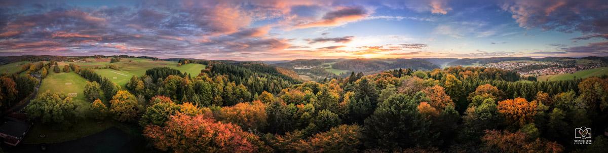 Herbstfarben auf der schwäbischen Alb
