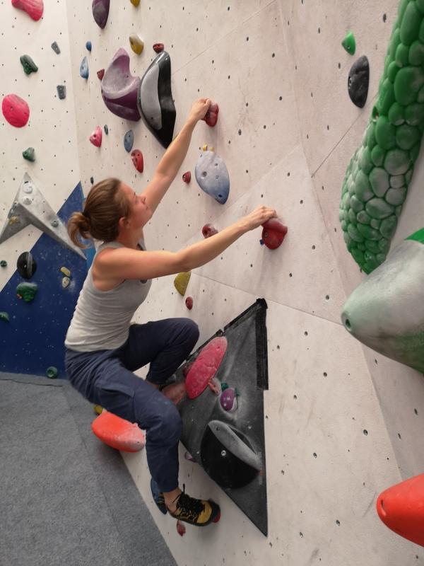 Bouldergruppe mit Katharina - Herbst 2021