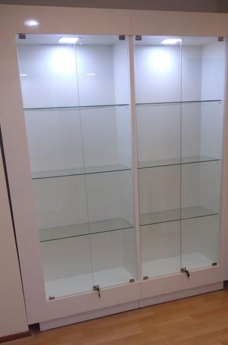 vitrina de exhibicion de productos