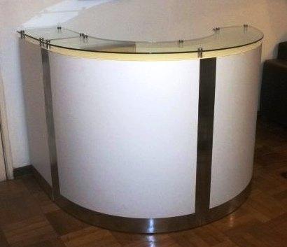 Mueble Recepción Circular Agustin2