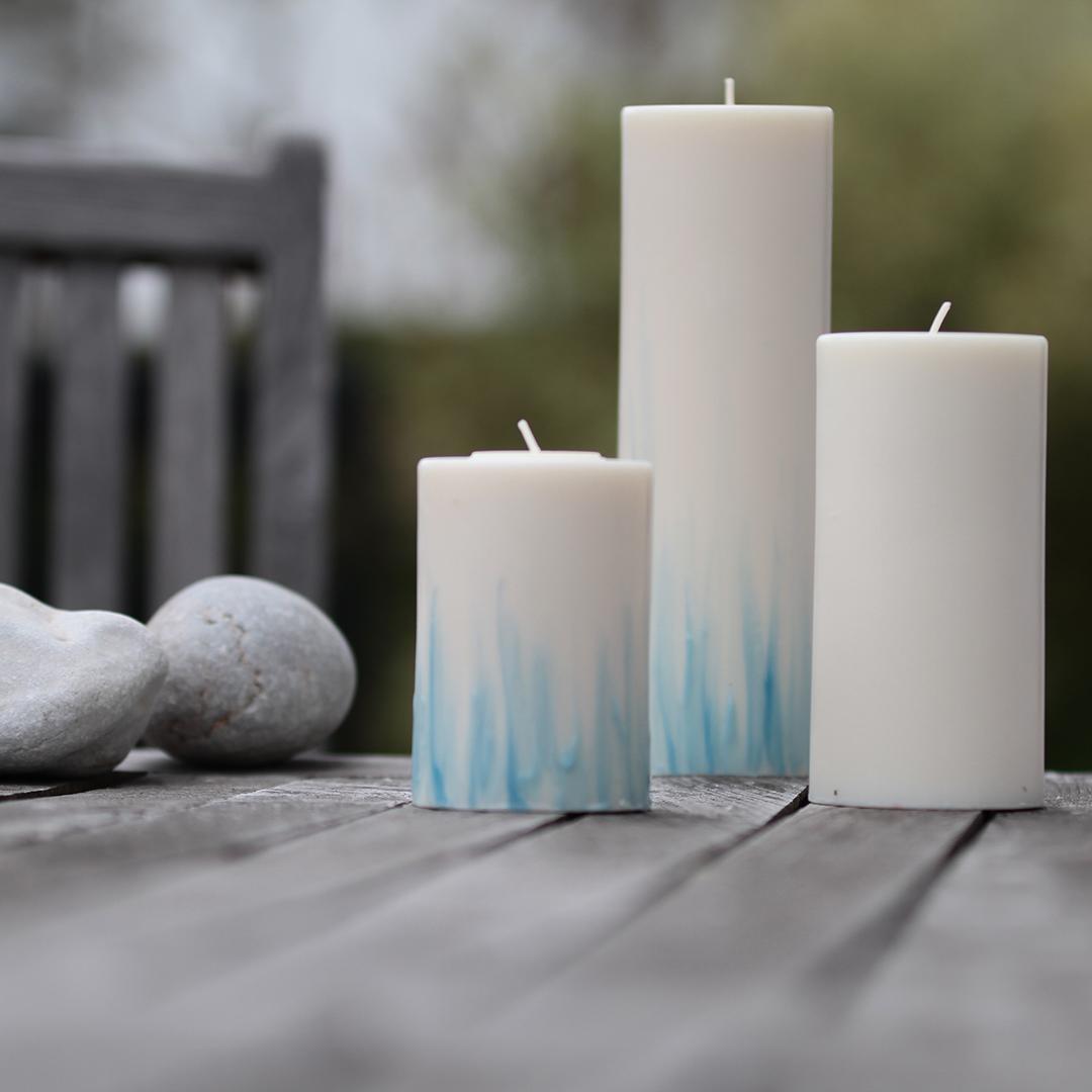 Kerzengröße mit Teelichteinsatz