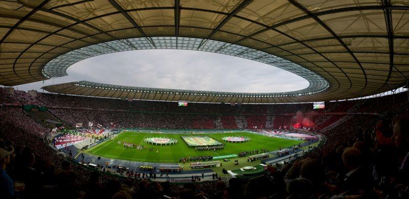 DFB Pokalfinale 2013, Olympiastadion Berlin VfB Stuttgart - FC Bayern München 2:3 , Teilnehmer : Olaf Miko., Maximilian F., Rene P.