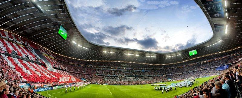 UEFA Champions League Finale 2012 Allianz Arena , FC Bayern München - Chelsea London Teilnehmer: Sascha M.,Maximilian F., Rene P.