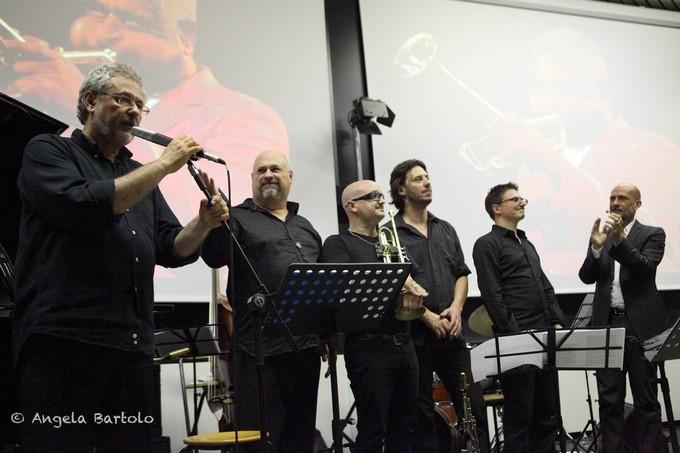Gianmarco Tognazzi Claudio Angeleri 5th Festival Jazz Milano