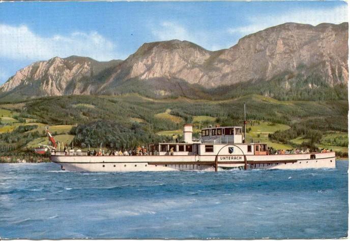 es war einmal das schöste Schiff im Salzkammergut od. Österreichs