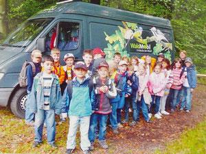 Besuch des Waldmobils