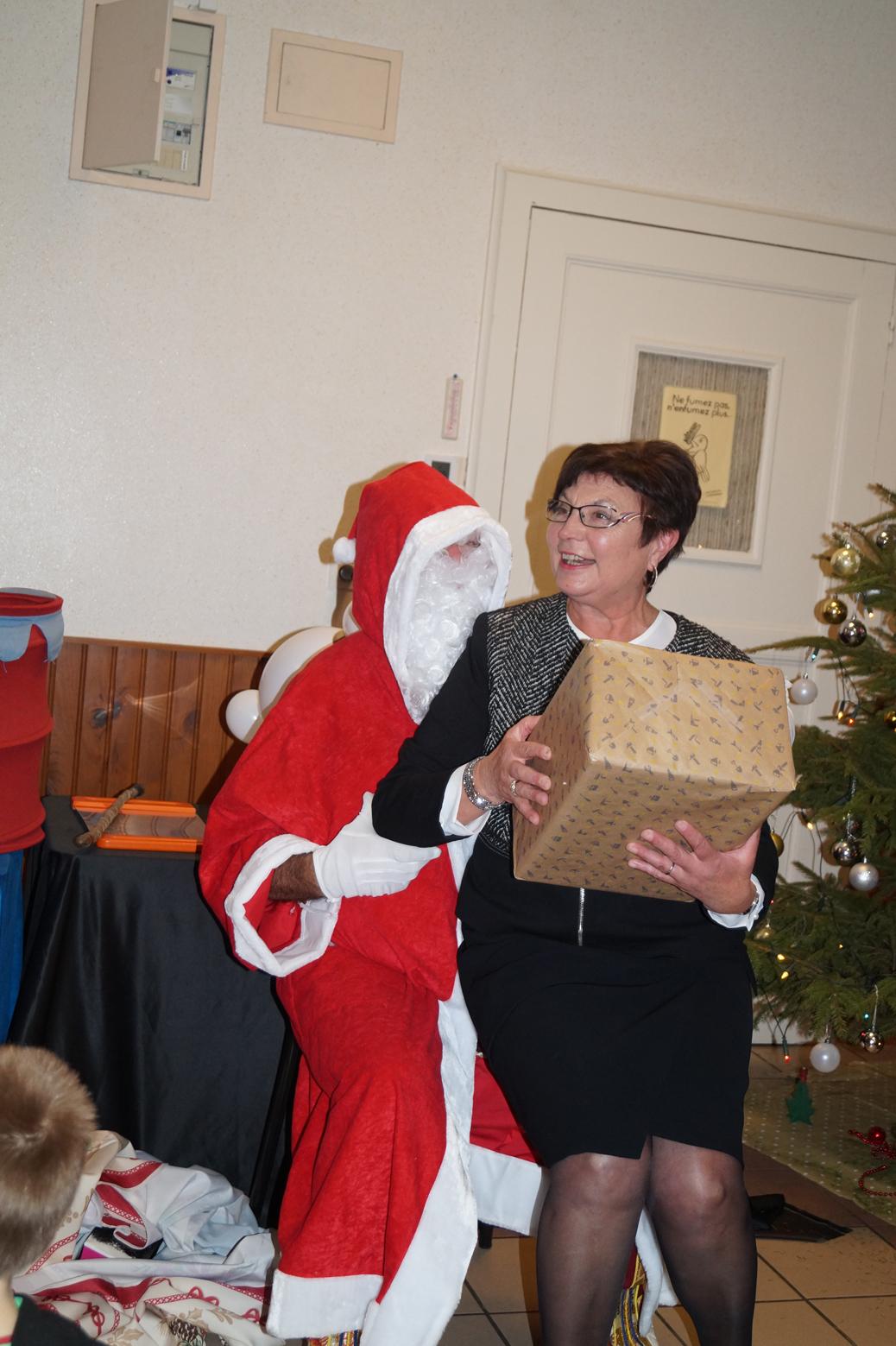 Le Père Noël avait réservé une surprise pour la maire déléguée