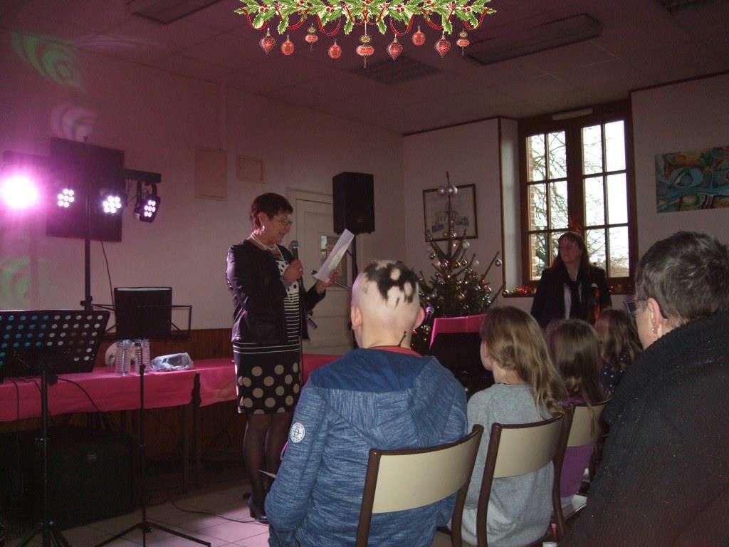 Le discours d'accueil de la Maire Déléguée Jacqueline Picart