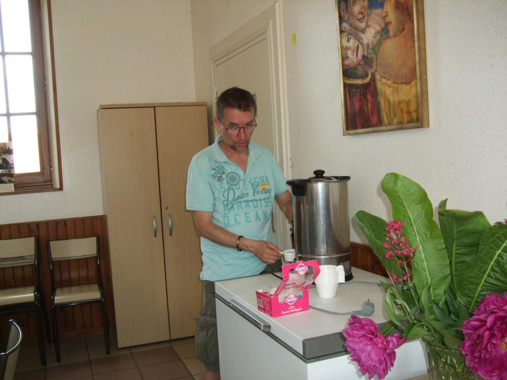 Le repas se termine par un petit café offert par la municipalité