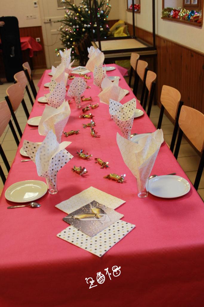 Table réservée aux seniors
