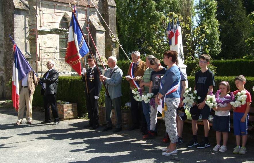 Hommage aux soldats de Saint-Agnan morts pour la France