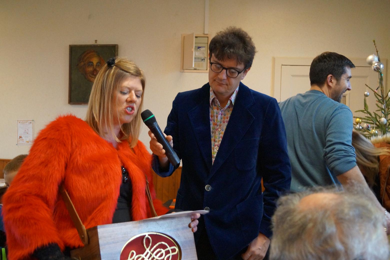 Miss Flonflon et Hervé de la Compagnie Diabolo.Gom