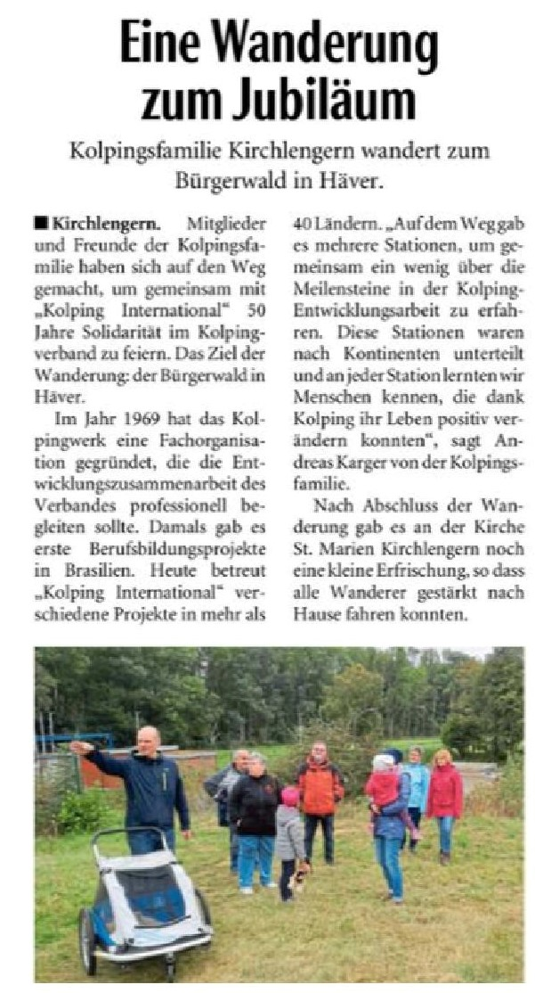 Neue Westfälische, 02.10.2020
