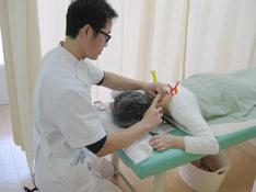 肩凝り治療