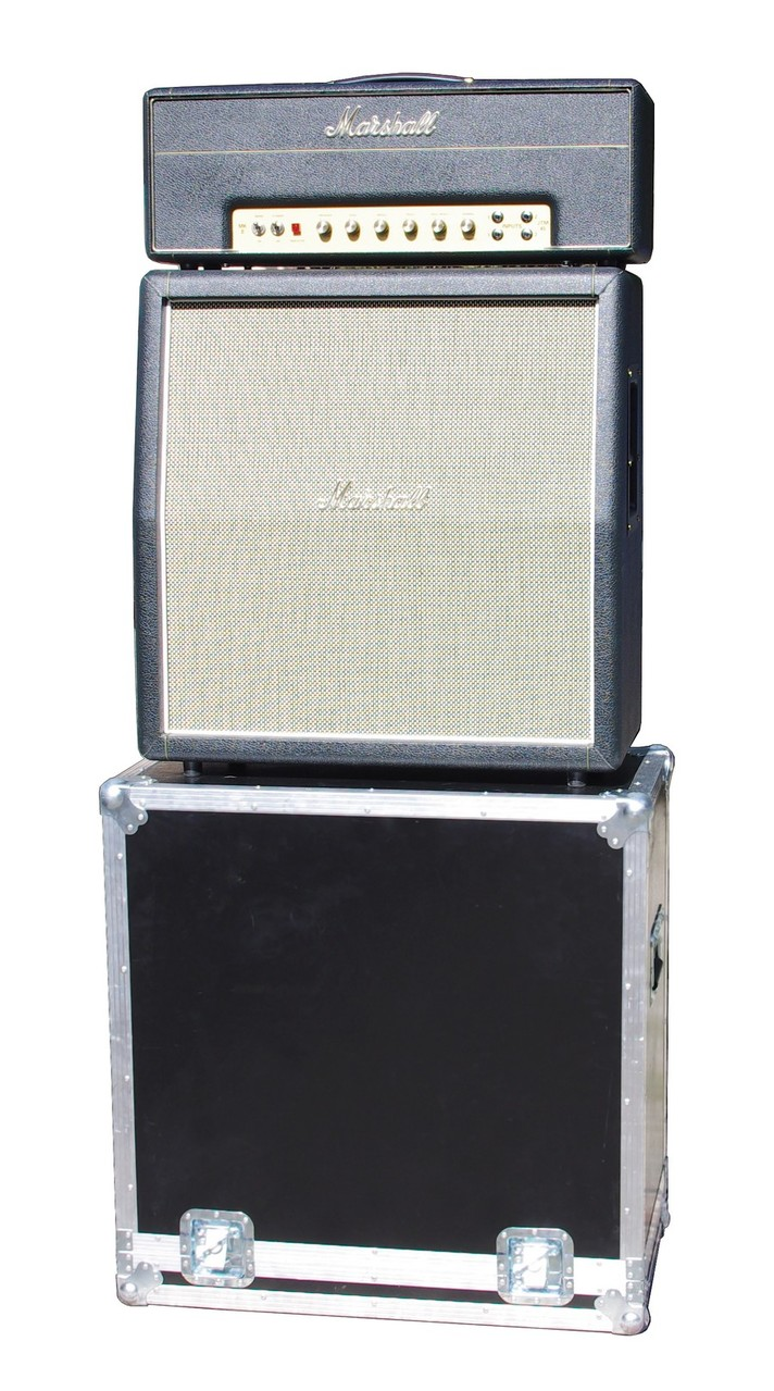 Flight case +  Marshall 2061cx et jtm45