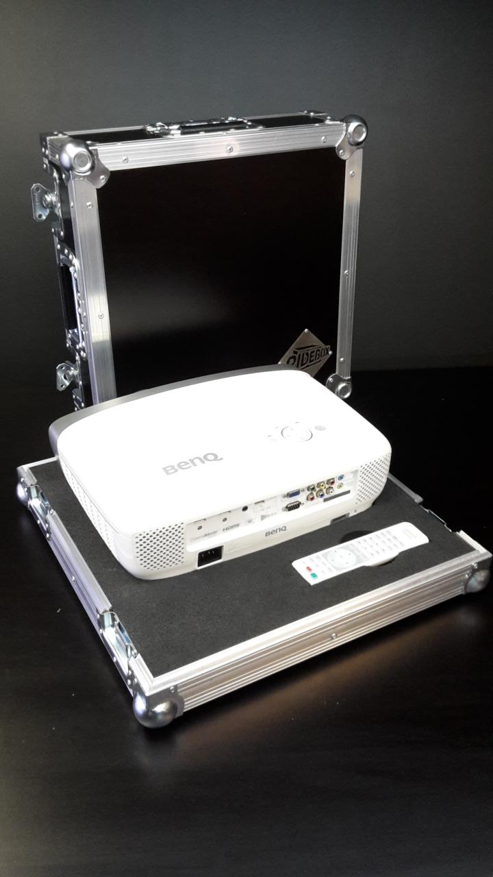 flight case vidéo projecteur