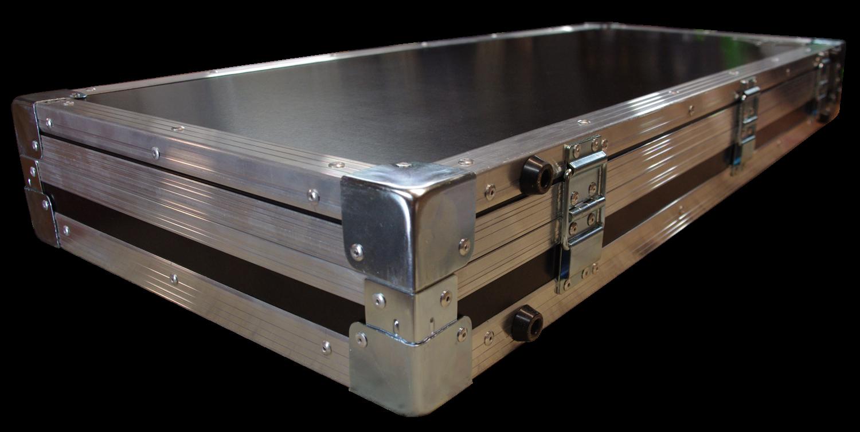 Flight case ridebox pour guitare Serie Sidh de Mermet