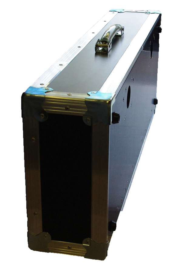 Flight case pedal board ridebox