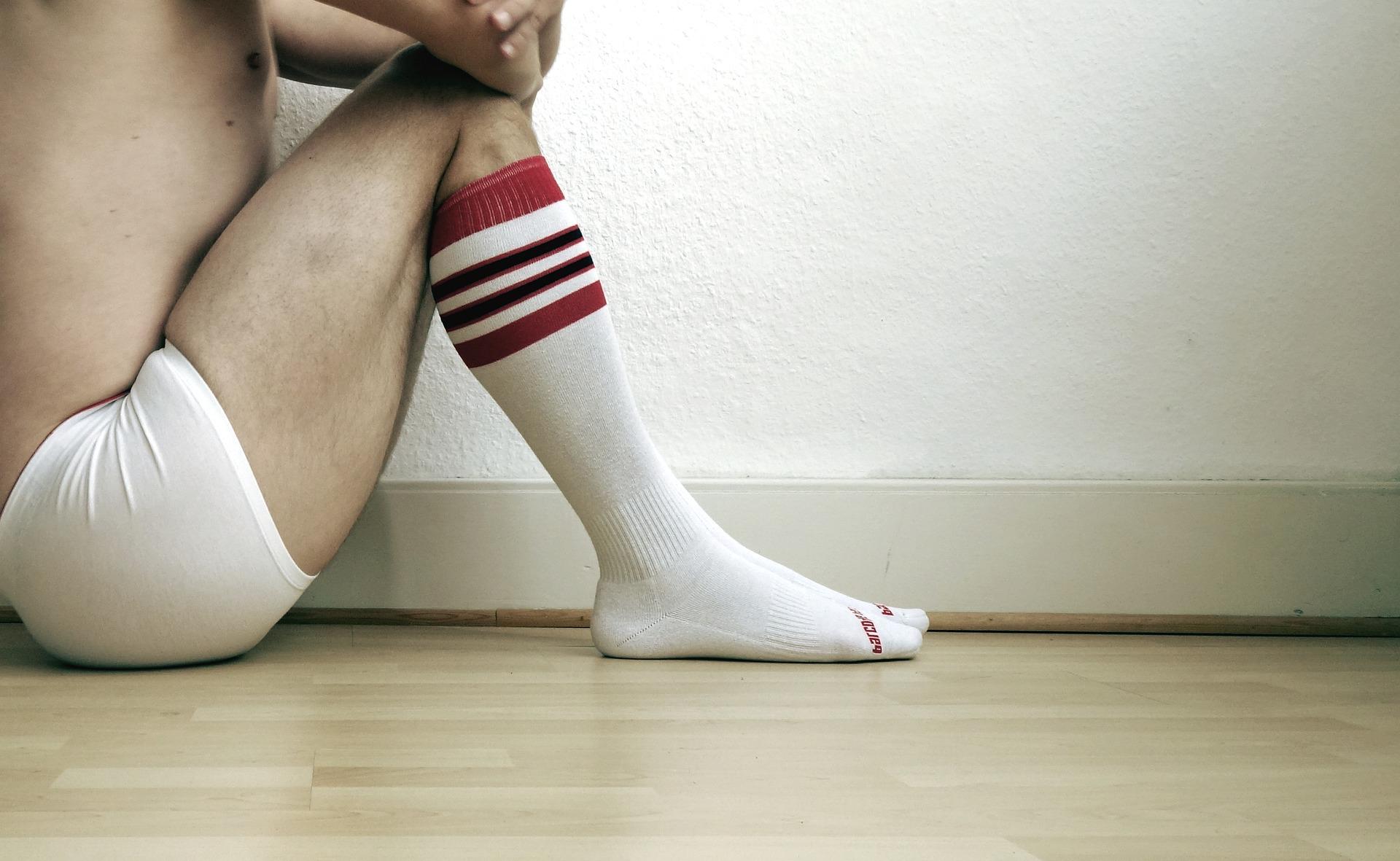 Weisse Socken - Ein Trend?