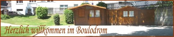 Herzlich willkommen im Boulodrom des BTBB im Park vor den Römer Thermen in RLP