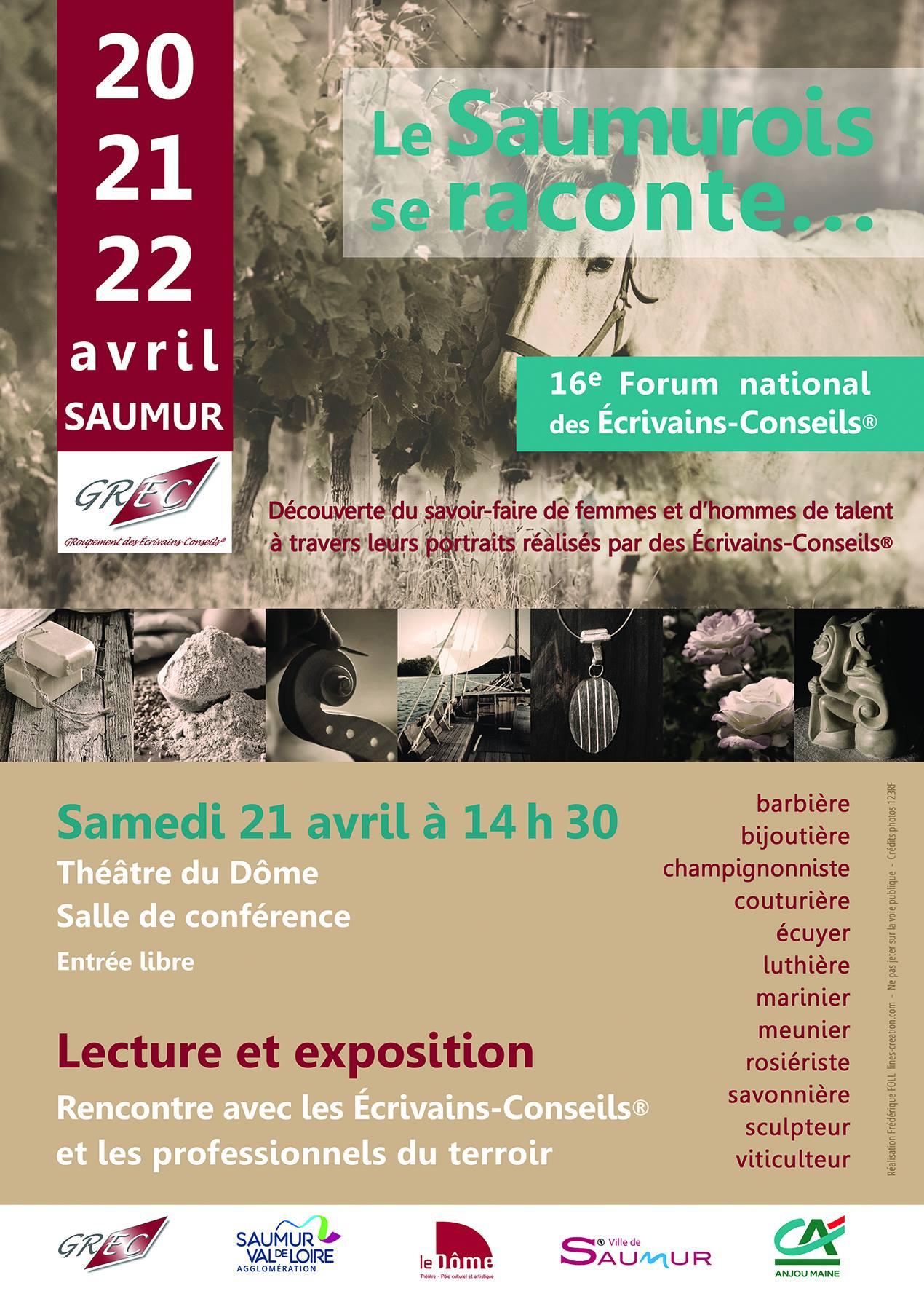Le 16e Forum du GREC à Saumur
