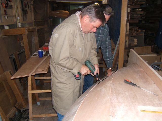 Baukurs eines Schiffes für Jedermann. DEIN Holz-Boot