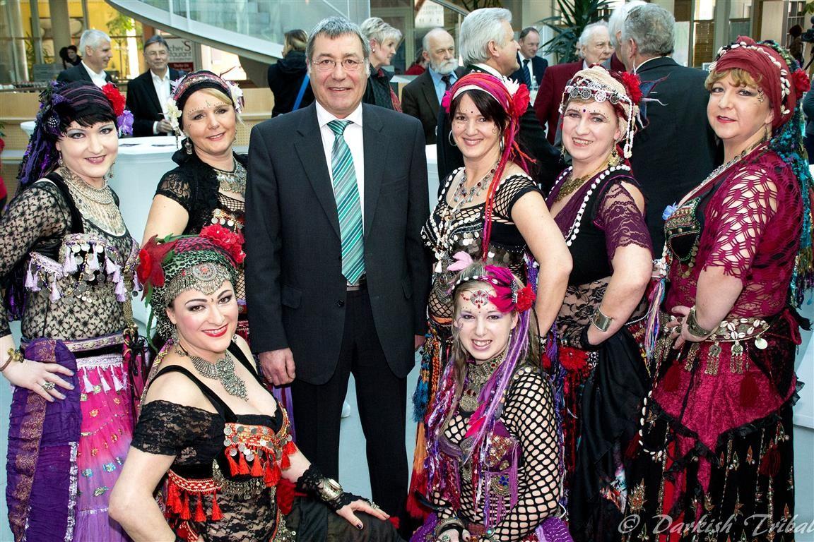 mit Bürgermeister Peter Haugeneder, Neuötting