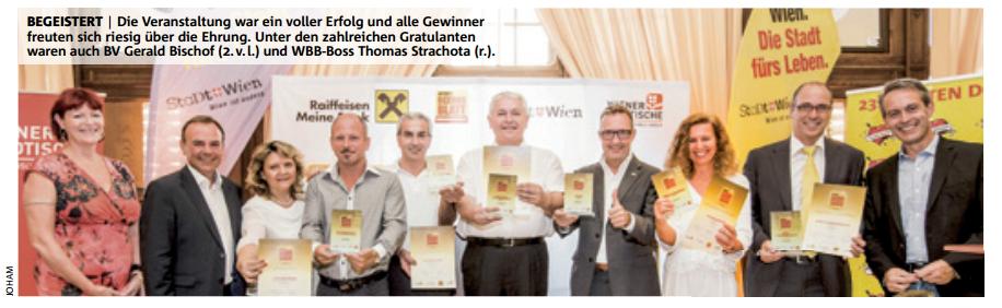 Bezirks Business Award 23. Bezirk 2015