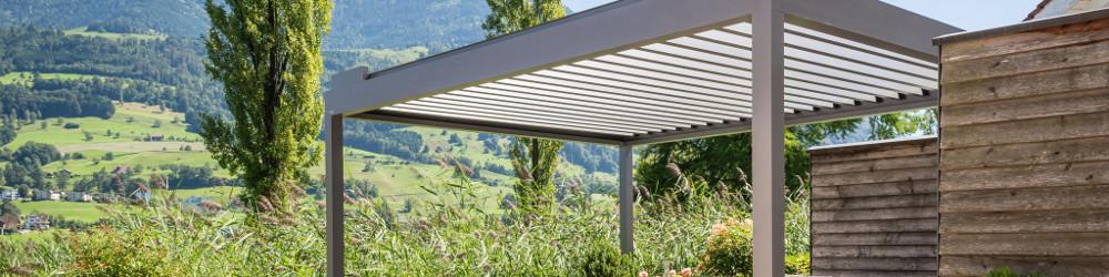 Terrassen Pavillon BAVONA von Stobag (Dachvariante Hardtop)