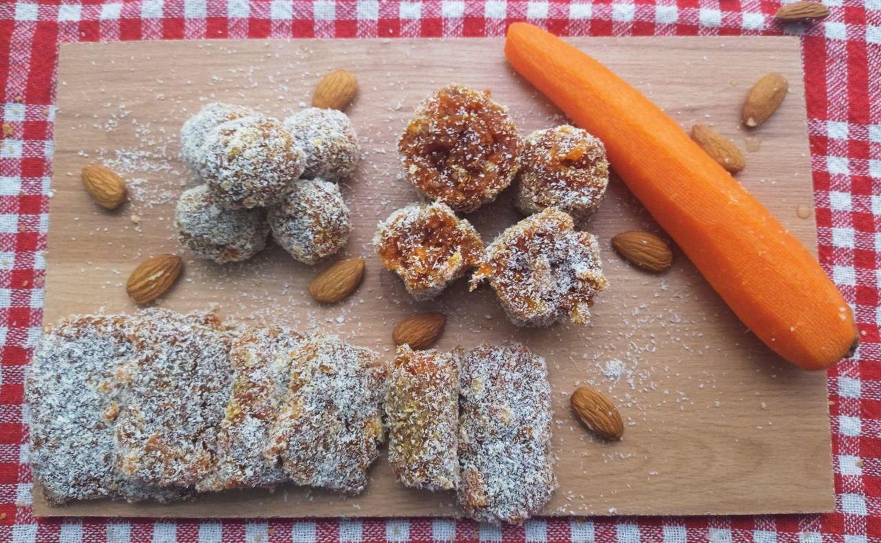 Cezerye: veganes Konfekt mit Karotten und Nüssen