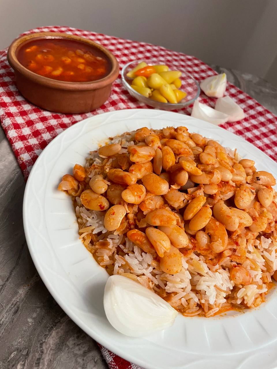 Kuru Fasulye: türkischer Bohneneintopf auf vegetarische Art