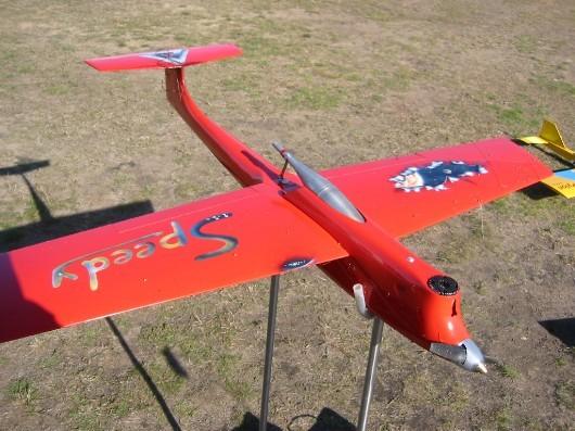 Speedy 40 von Günter Haffky mit OPS 6,5 ccm Rennmotor