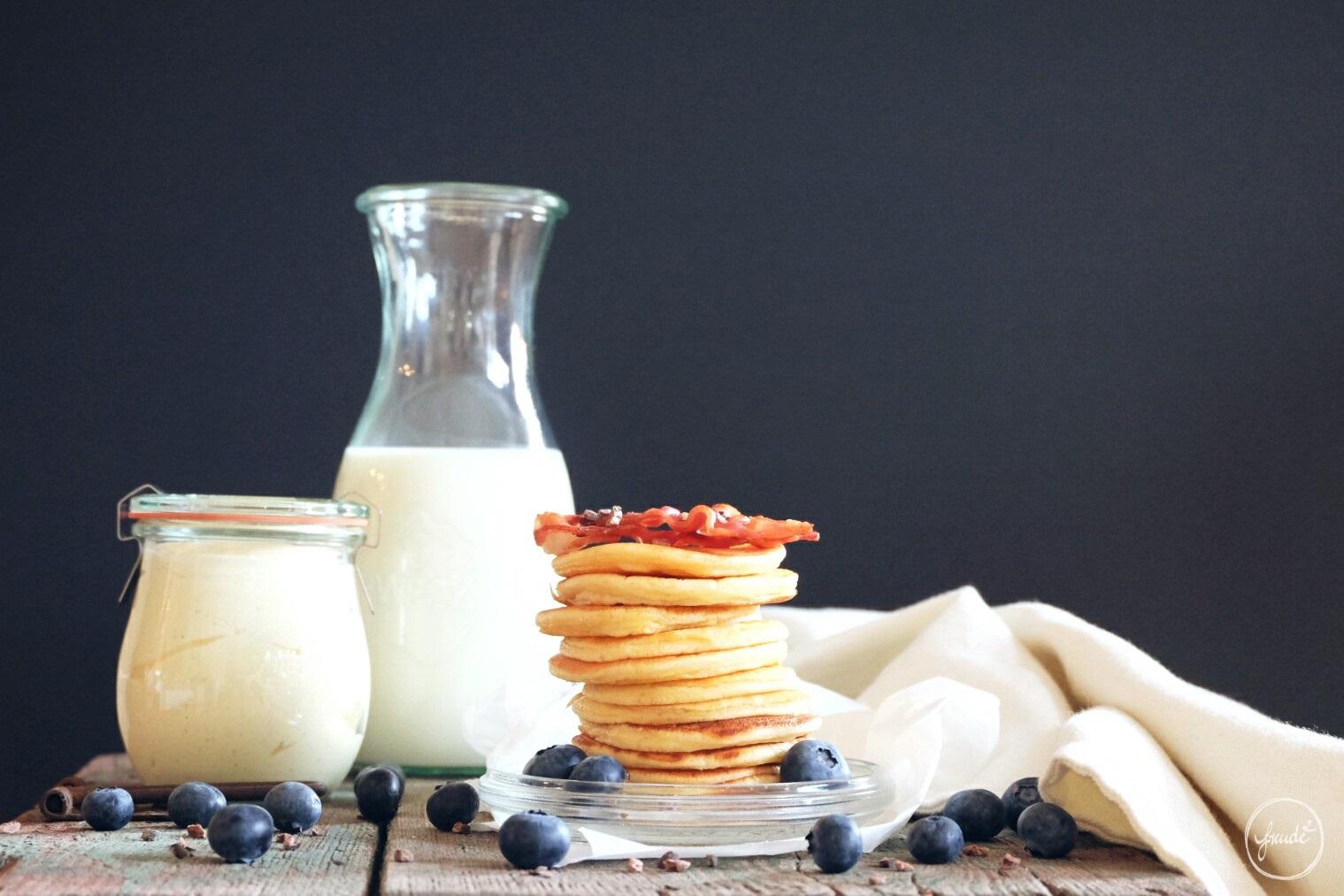 FRÜHSTÜCKS LIEBLING - herrlich fluffige Pancakes