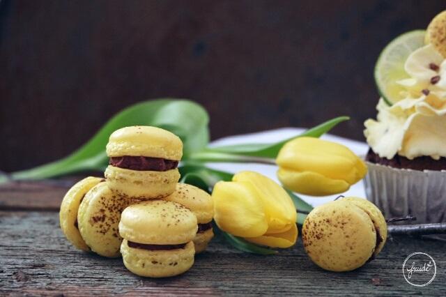 MARACUJA TRAUM - fruchtige, schokoladige Cupcakes