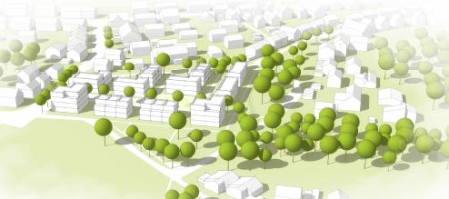 Sieger-Entwurf für das Baugebiet Greut (Bildquelle: Stadt Esslingen)
