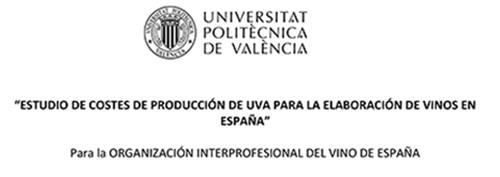"""OIVE presenta primera fase del """"Estudio de costes de producción de uva para la elaboración de vino en España"""""""