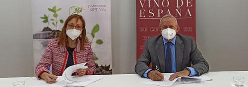 Acuerdo entre OIVE y PTV para impulsar la competitividad del sector vitivinícola a través de la innovación y la sostenibilidad
