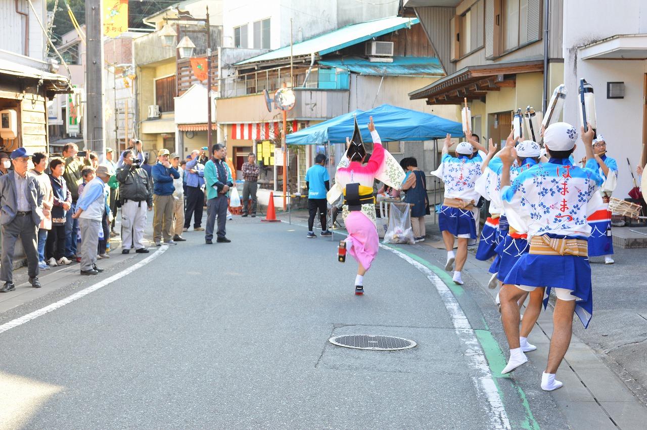 「夢街道ショー」阿波踊り(浜松市連)