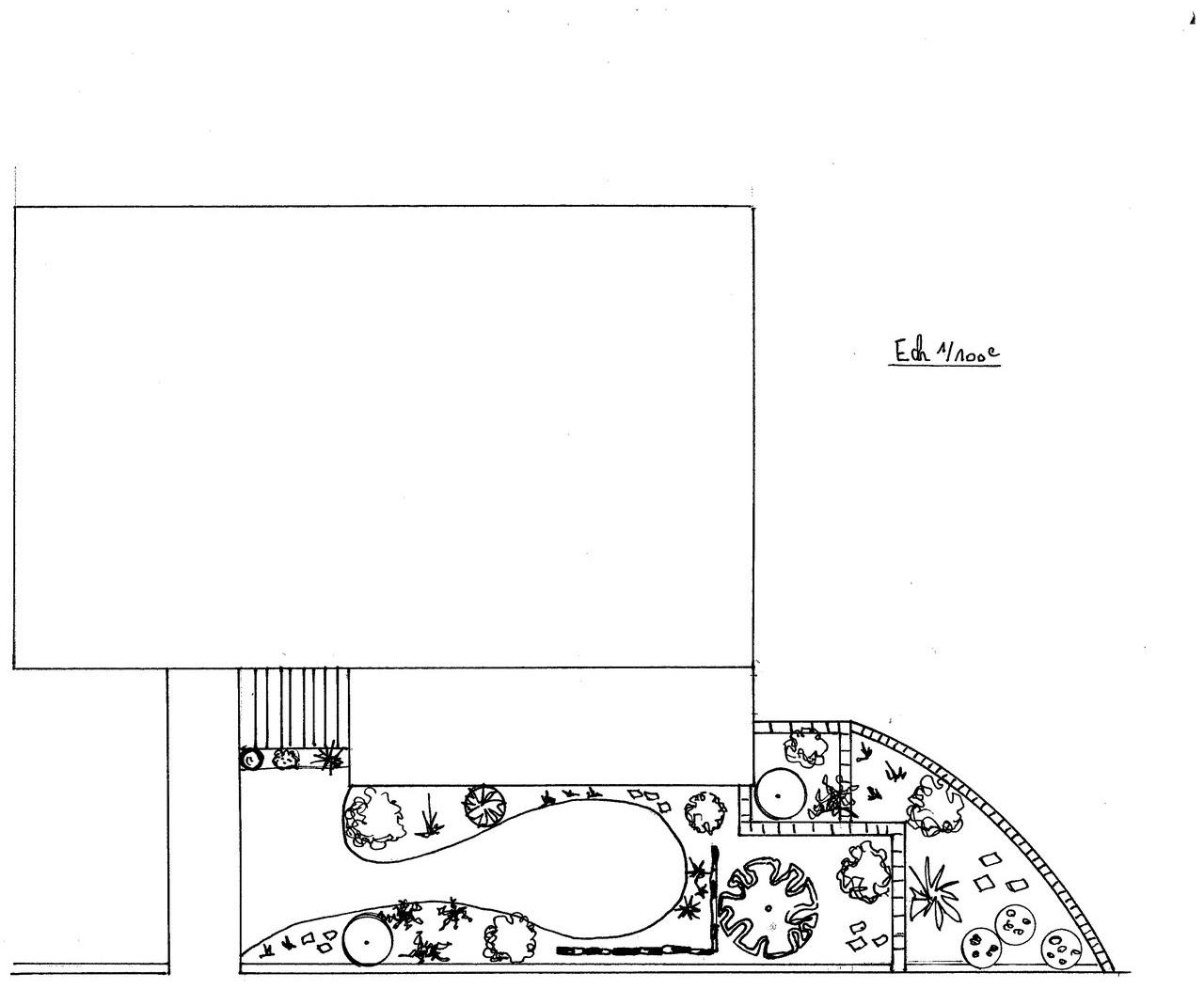 REF 112 Etude aménagement entrée de maison sur sous-sol