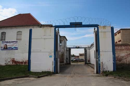 Das Tor zum Zuchthaus Cottbus