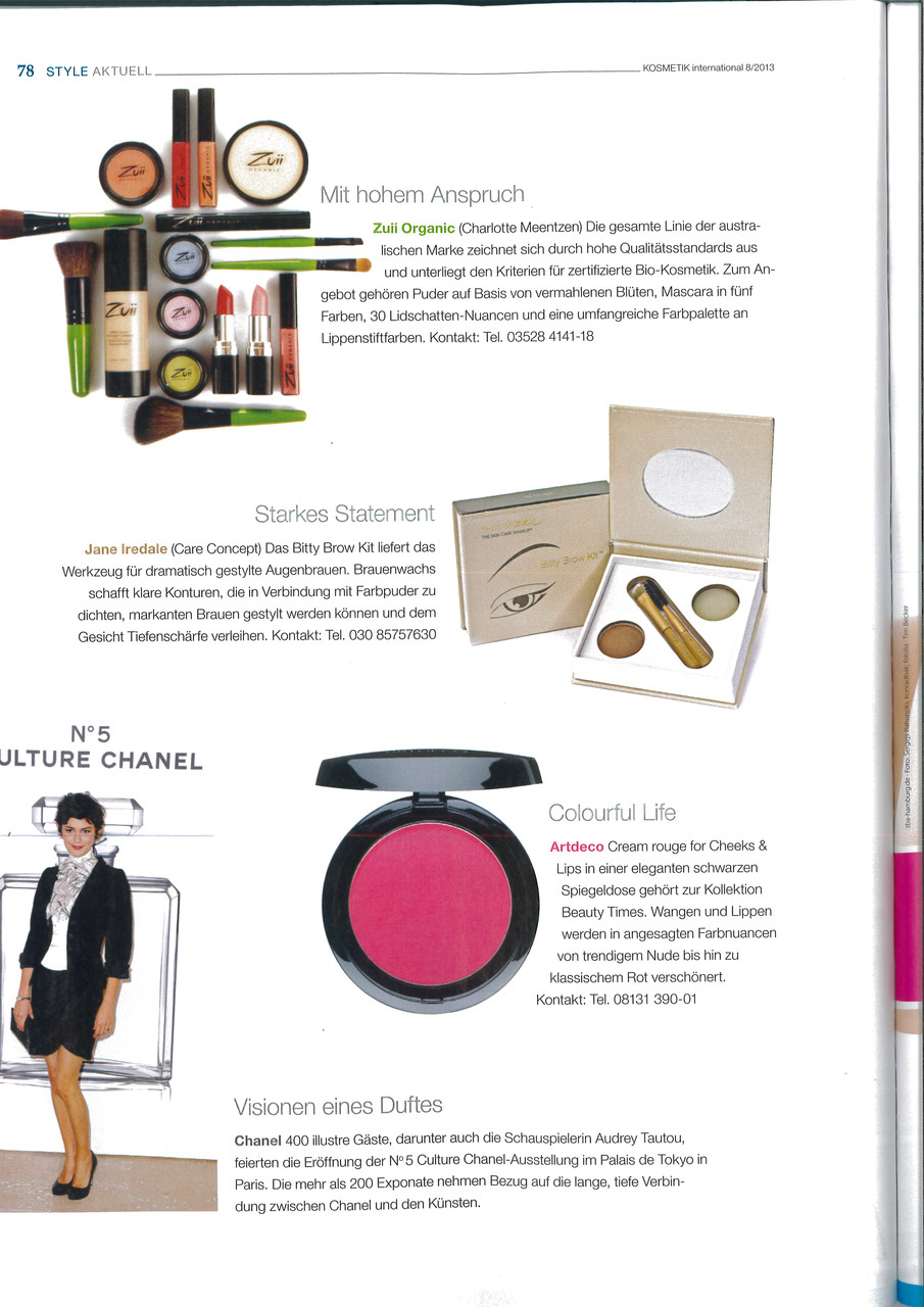 Kosmetik International 8/2013