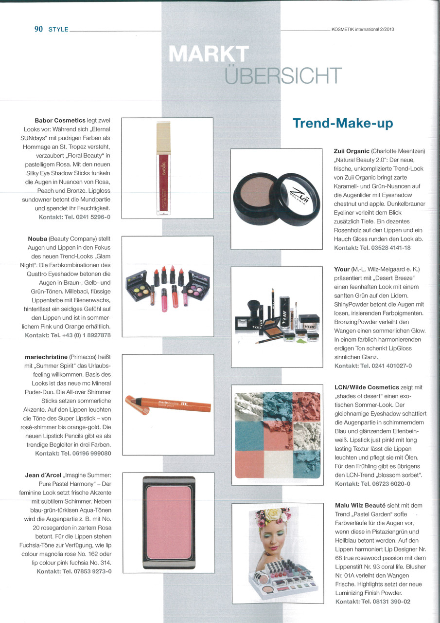 Kosmetik International 2/2013
