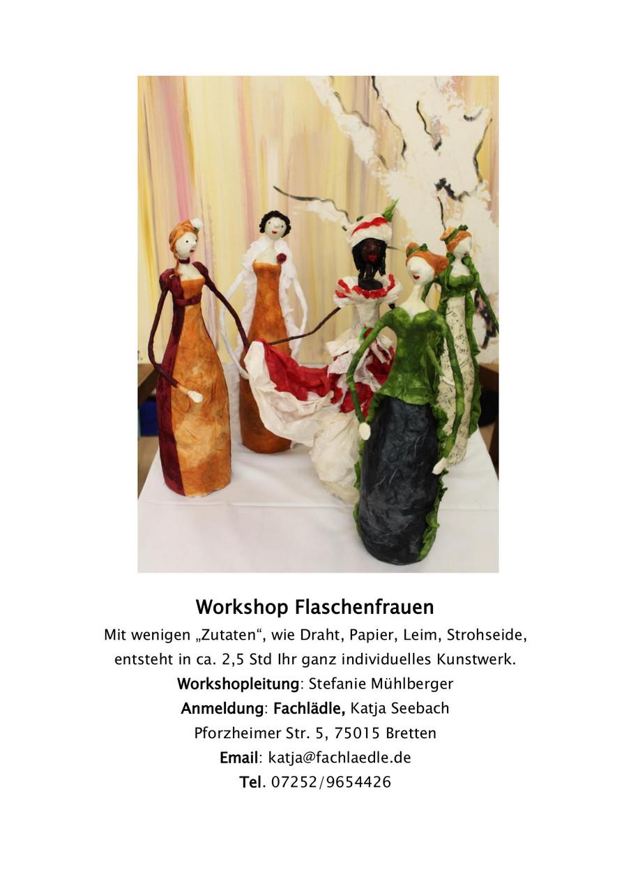 Unsere Events und Künstler-Worshops - Fachlädle - Geschenke ...