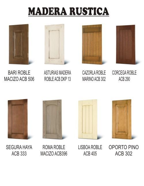 Puertas de madera dimarti muebles calidad y precios sin for Puertas de cocina rusticas