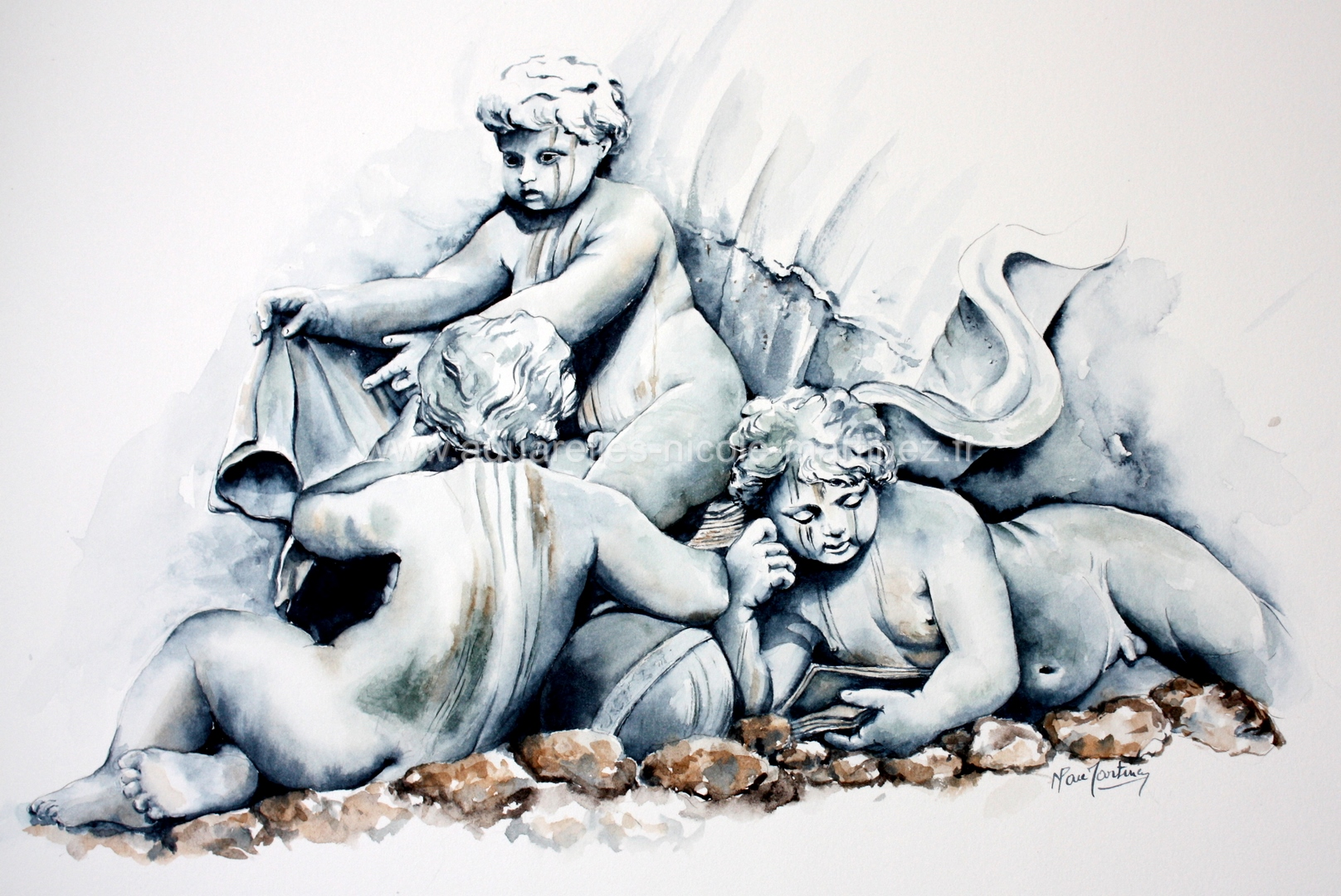 Les Chérubins - Fontaine des Girondins