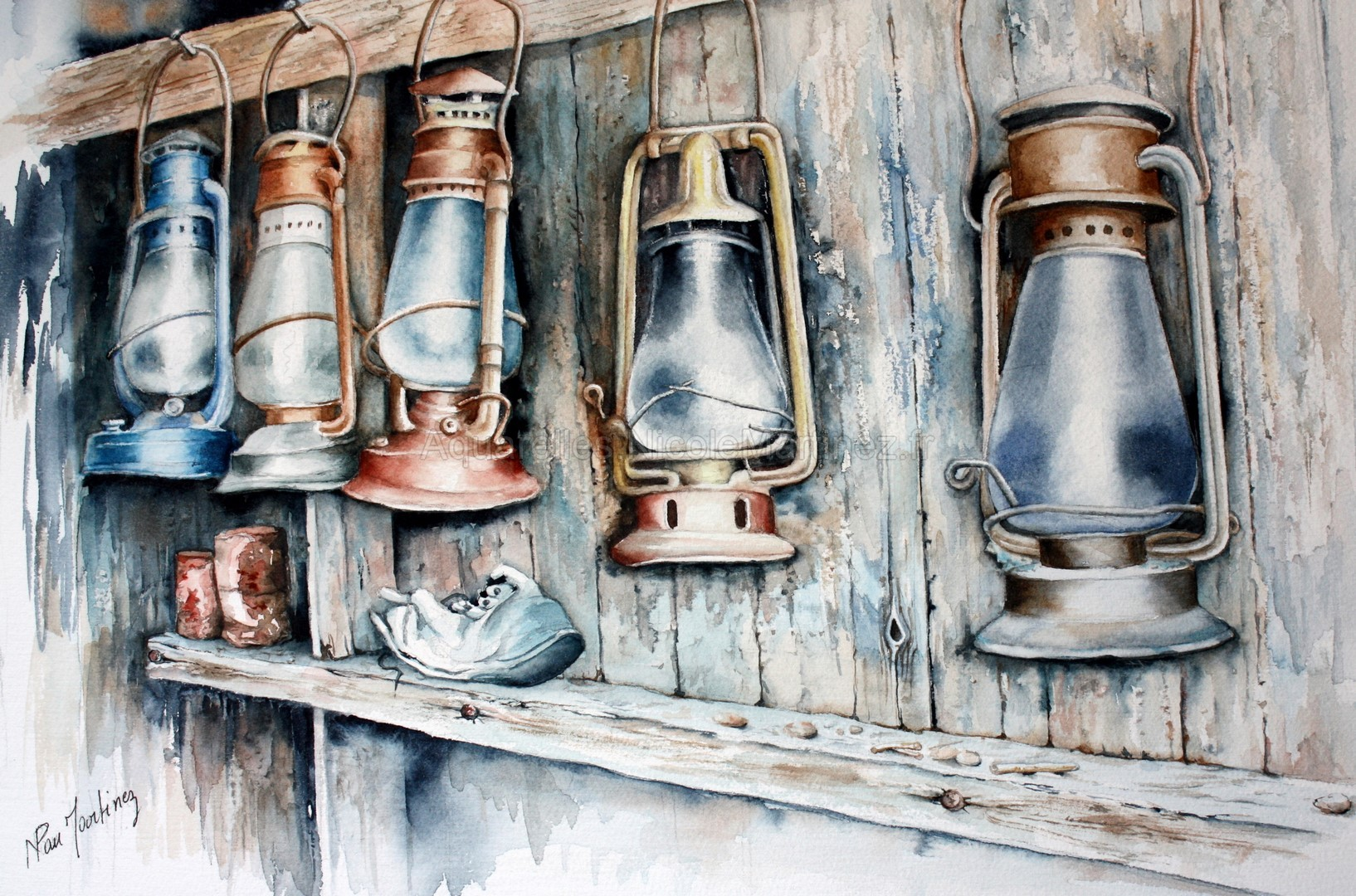 Cabane aux lanternes