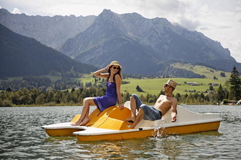 Wassersport am Walchsee