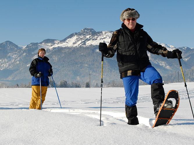 Schneeschuhwandern im Kaiserwinkl