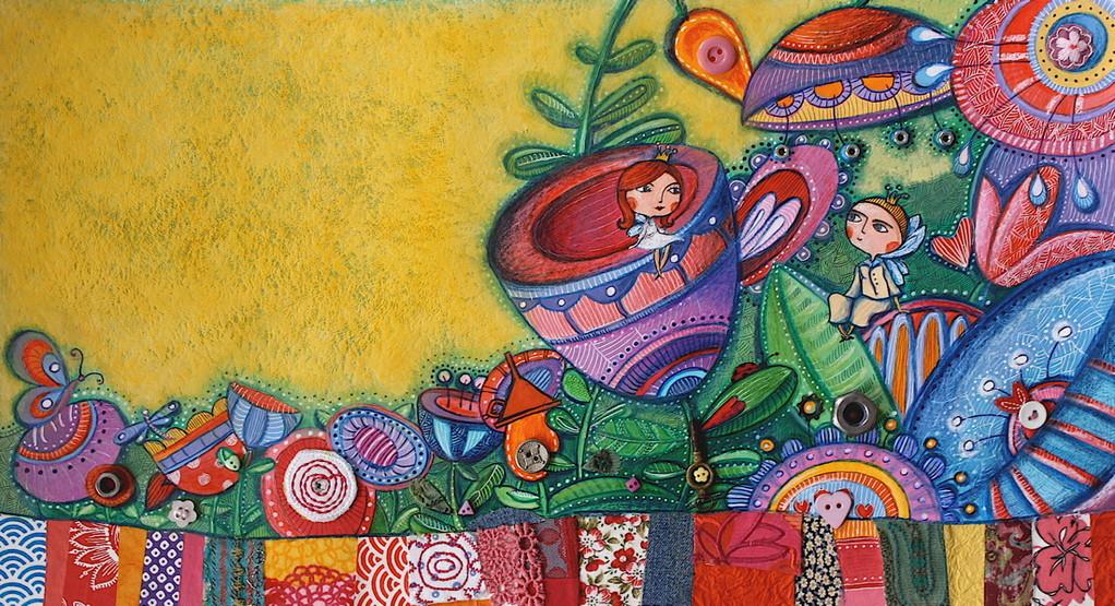 Album jeunesse - Poucette - Catherine Suchocka, Poucette et l'Ange de la fleur